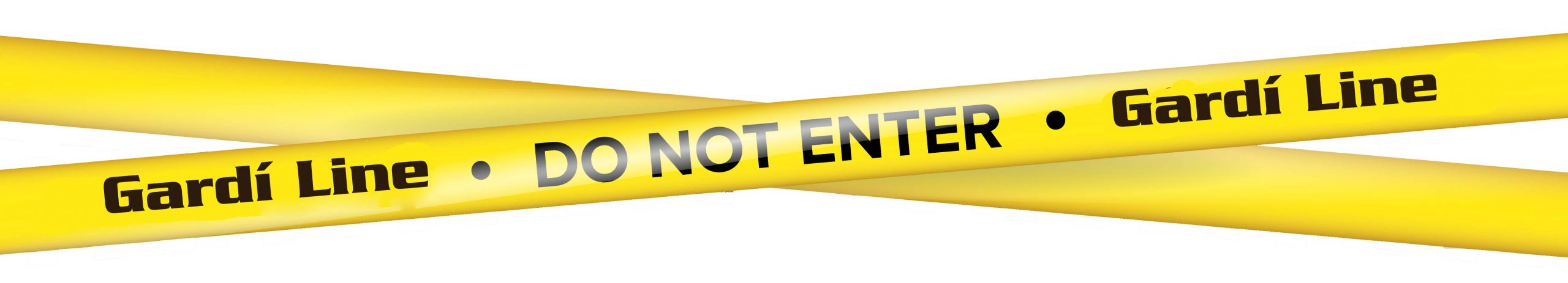 Yellow With Black Police Line. Do Not Enter, Danger. Security Quarantine Tapes. Isolated On Transparent Background. Vector